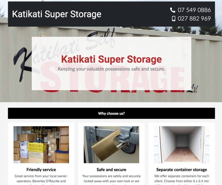 Katikati Super Storage