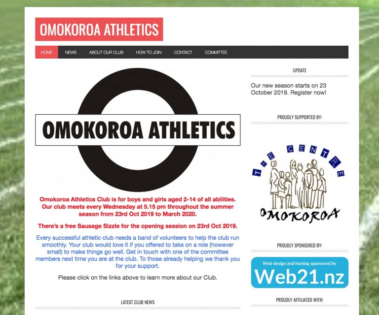 Omokoroa Athletics
